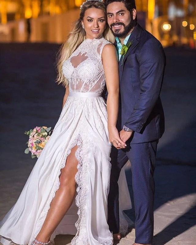 Rafa Kalimann e Rodolffo, fotos do casamento.