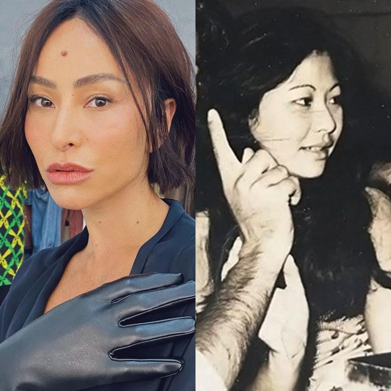 Mãe de Sato mais jovem.