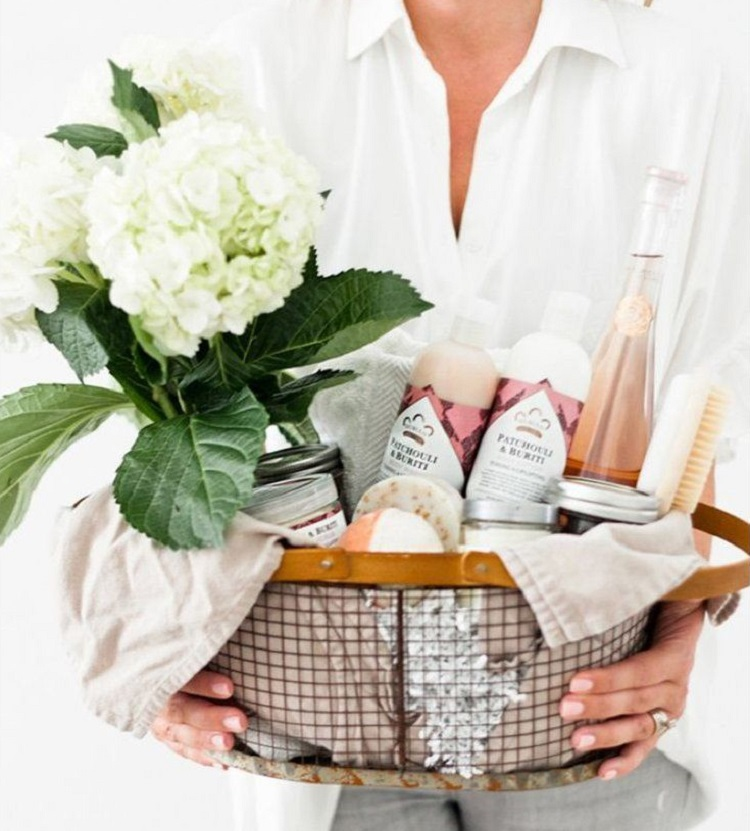 O que colocar numa cesta de Dia das Mães