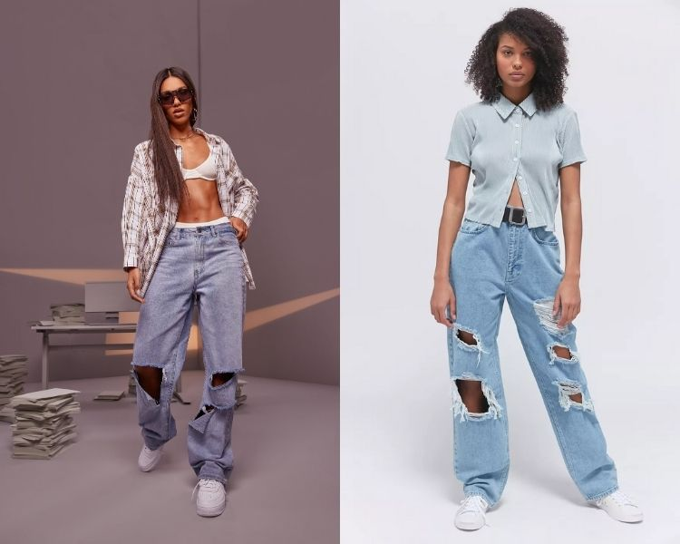 jeans detonado