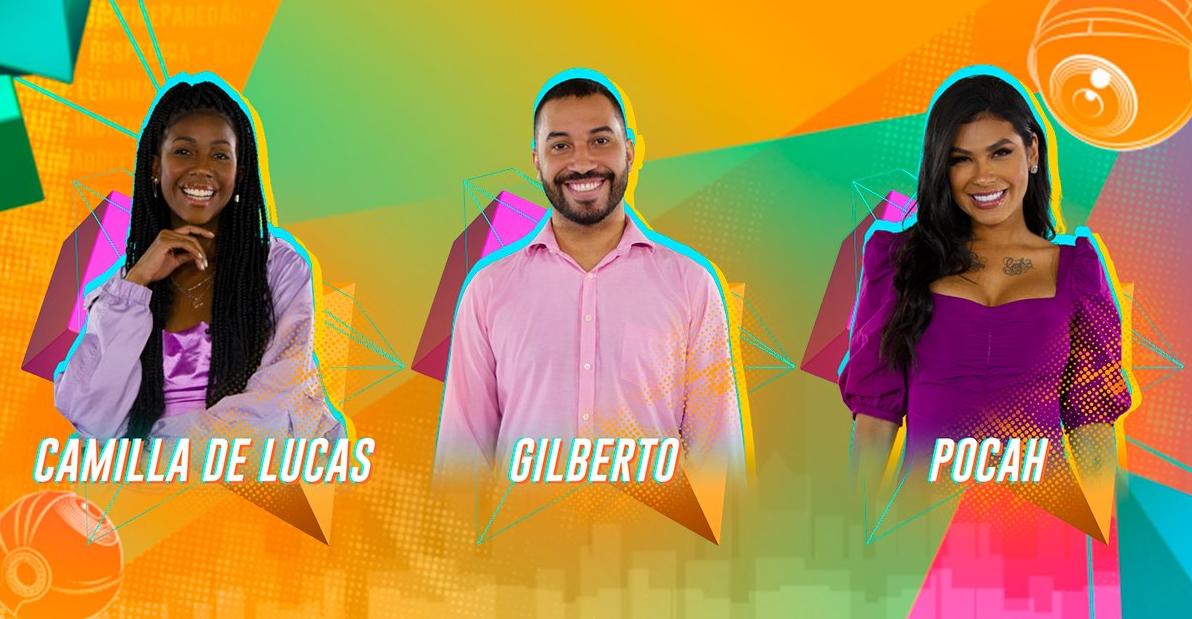 Quem sai do BBB 21: Camilla de Lucas, Gilberto ou Pocah?