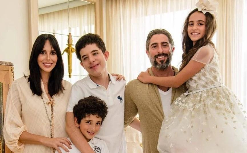 Marcos Mion e a família - Reprodução