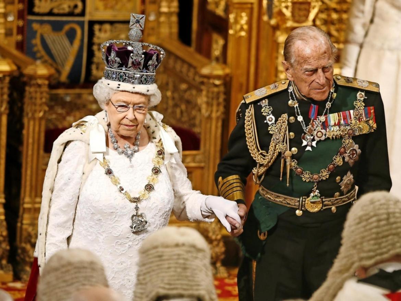 Elizabeth II e príncipe Philip.