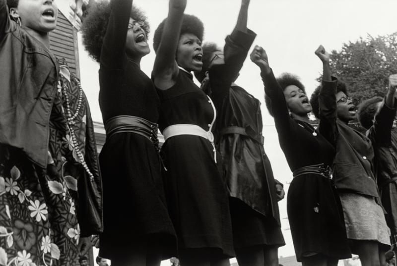 Panteras Negras em 1968.