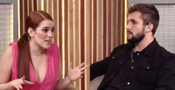 Após sair do BBB 21, Arthur faz revelações para Ana Clara (imagem: reprodução/ Globo/ Gshow)