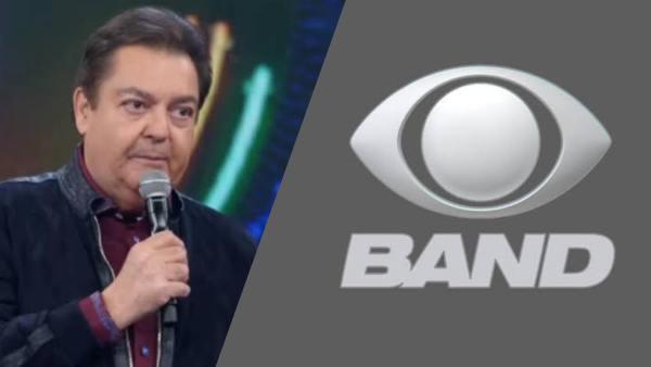 Faustão fecha acordo com a Band e pode ter 2 programas na emissora da família Saad (montagem: Fashion Bubbles)