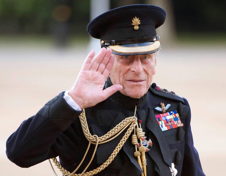 Aceno de Príncipe Philip.
