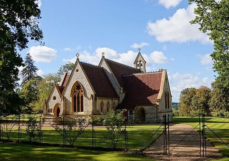 Royal Chapel of All Saints.