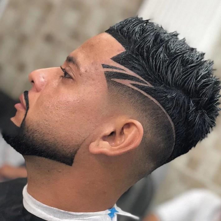 Cortes de cabelos afros masculinos