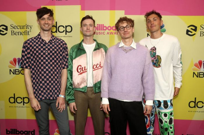 Grupo no Billboard Music Awards 2021.