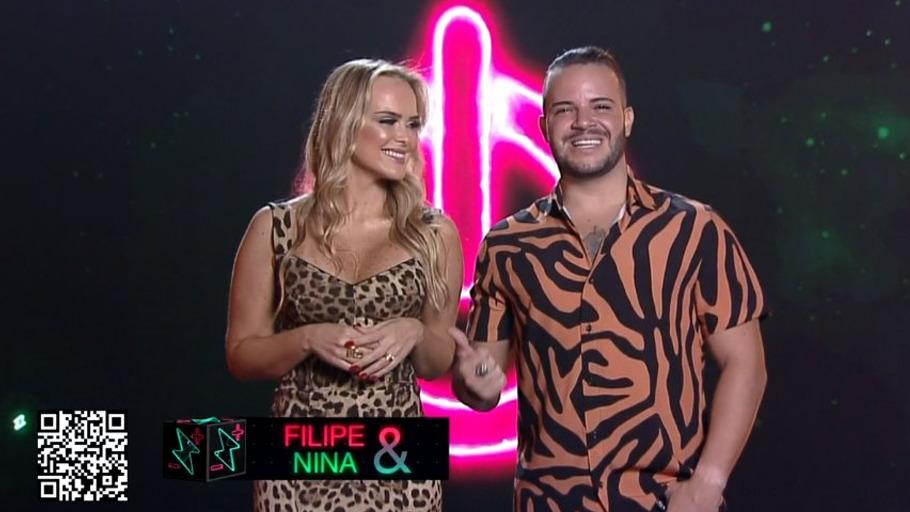 Felipe e Nina do Power Couple