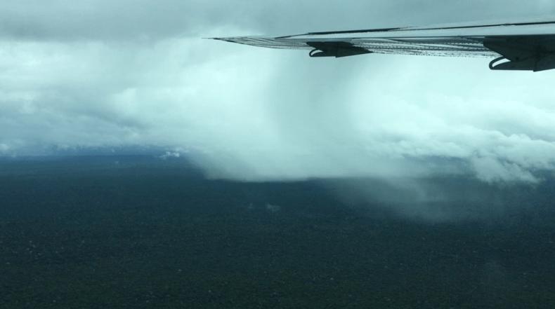 """Foto dos 'rios voadores"""" na Amazônia ajudam a regular o clima do planeta e no abastecimento de água"""
