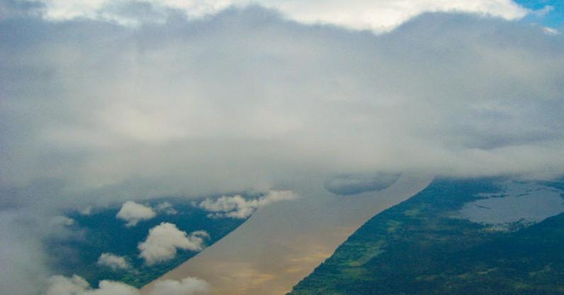 Rios voadores da Amazonia, importante para abastecimento de rios e ajuste dos climas do planeta