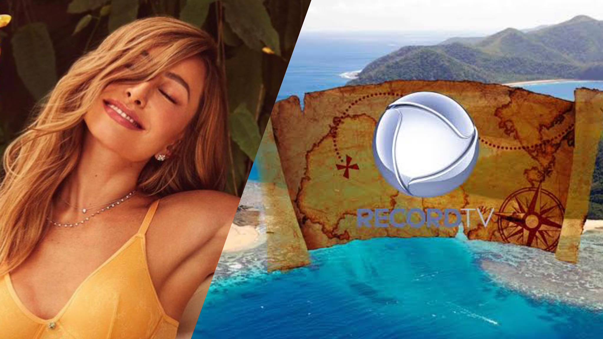 A Ilha Record estreia em julho na Record TV (montagem: Fashion Bubble)