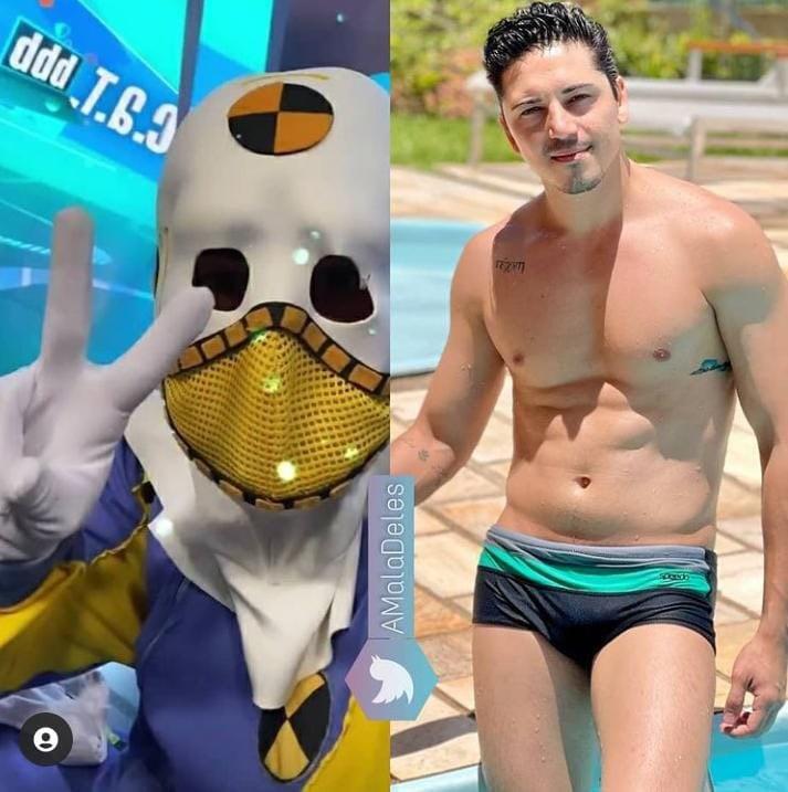 Thadeu Torres é ator e tem 30 anos. Depois de entrar no BBB 21, como Dummie, ganhou mais seguidores (imagem: reprodução)