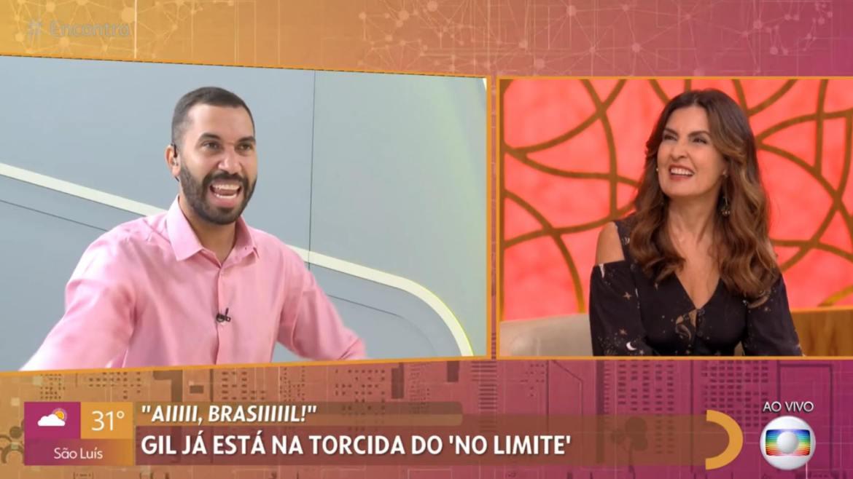 Gil do Vigor disse que que entraria em No Limite depois do BBB 21 (imagem: reprodução/ Globo)