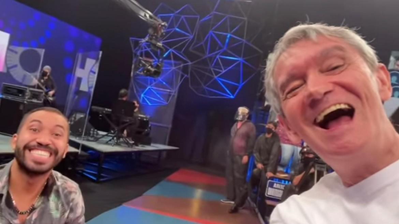 Gil do Vigor estará no Altas Horas e ao lado de Fiuk seu amigo do BBB 21 (imagem: Instagram)