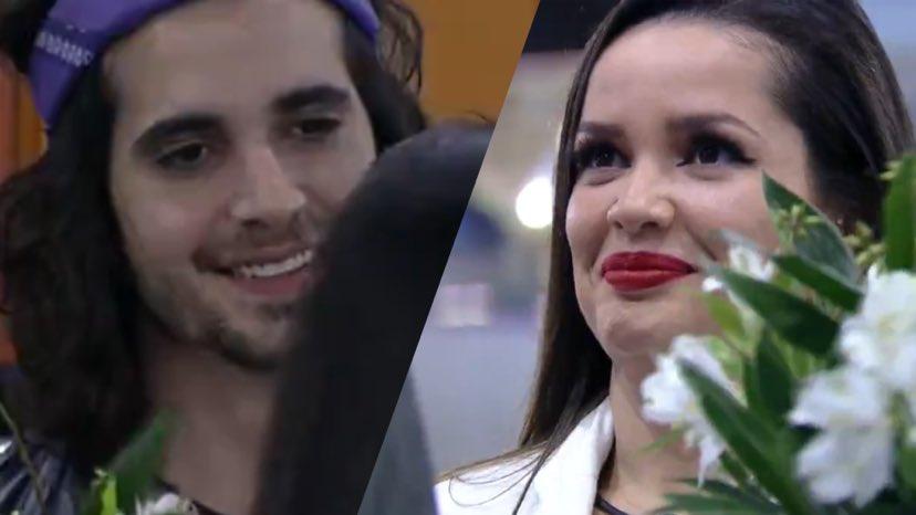 Após flerte no BBB 21, Fiuk e Juliette se beijam (montagem: Fashion Bubbles)