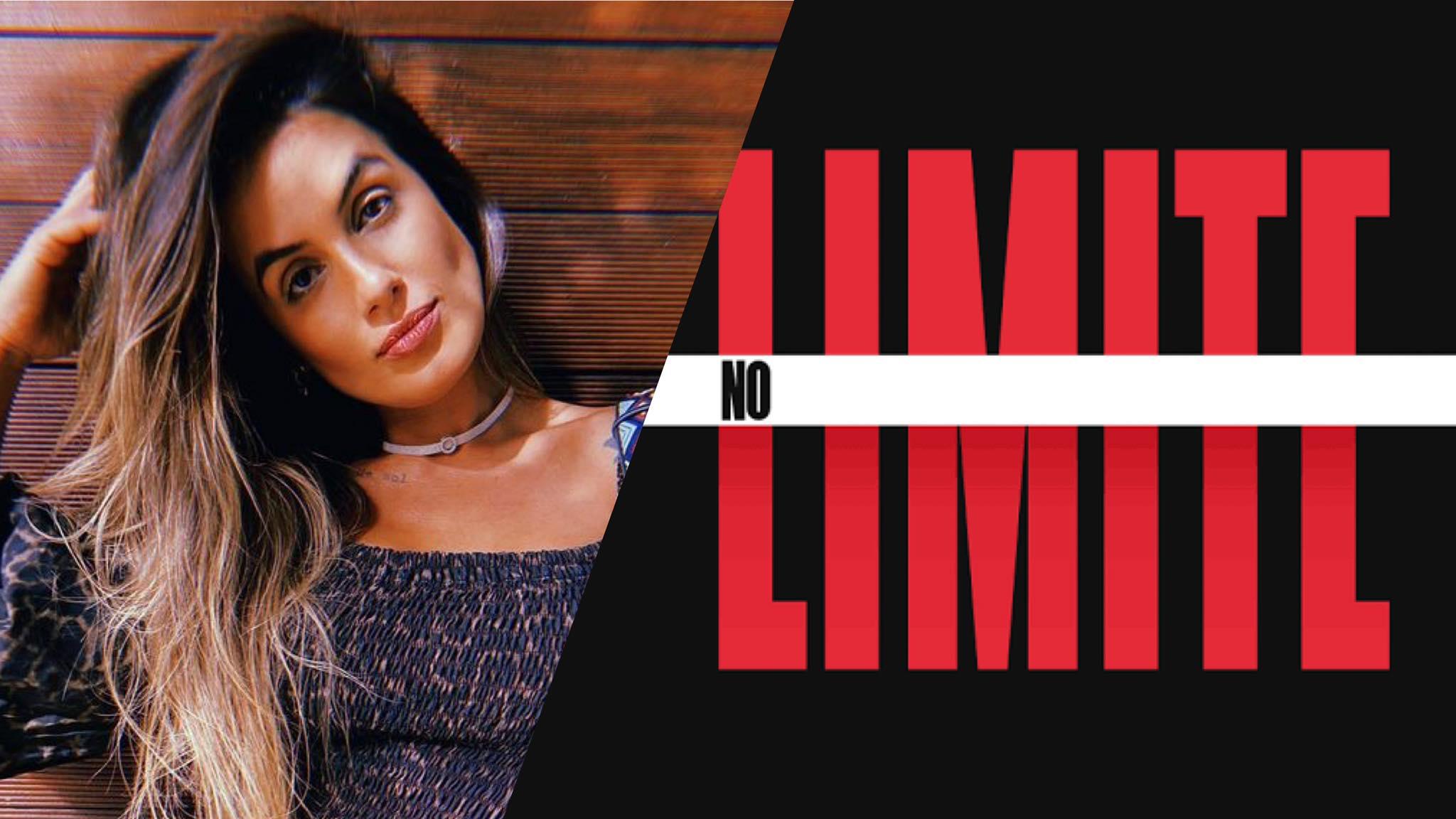 Carol Peixinho esteve no BBB 19 e agora está em No Limite (montagem: Fashion Bubbles)