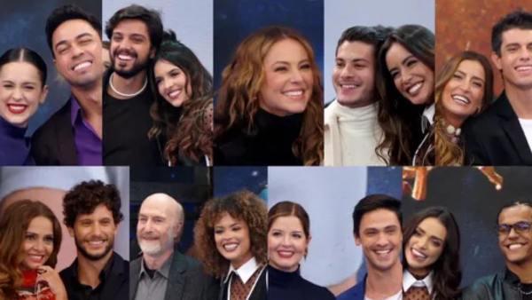Famosos e suas duplas são apresentadas no Super Dança dos Famosos do Faustão (imagem: divulgação/ Globo)