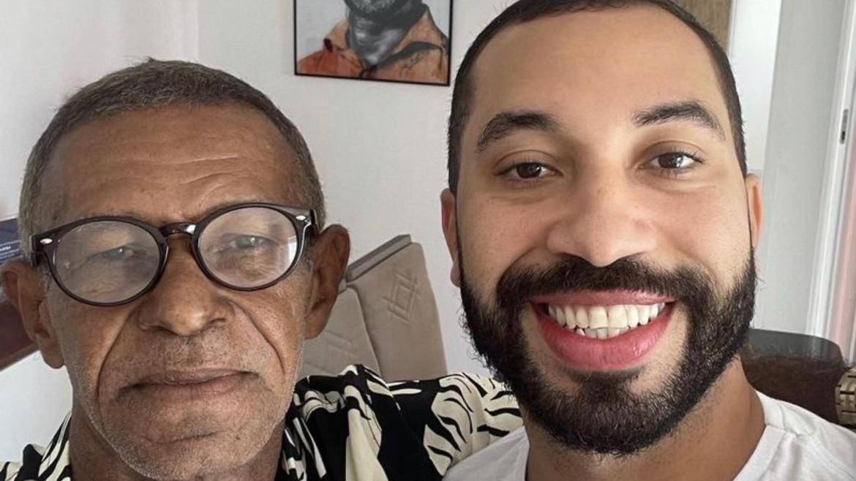 Gil do Vigor reencontra o pai (Sr. Gilberto) após 15 anos (imagem: Instagram)
