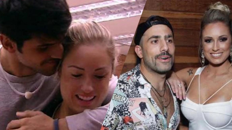 A loira teve dois affair na casa, com Lucas e Kaysar (imagem: reprodução)