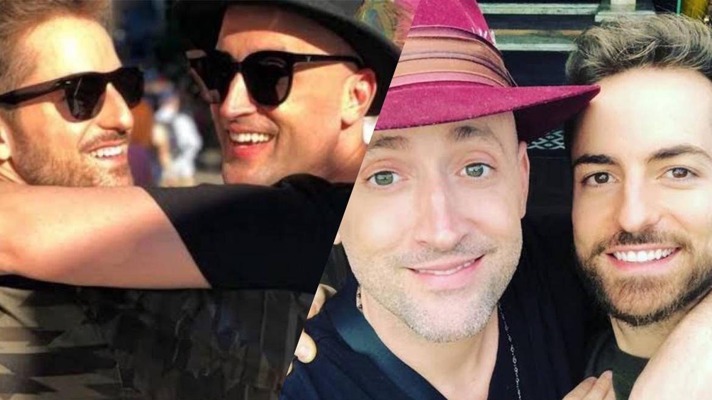 Paulo Gustavo e Thales Bretas se conheceram em 2014 (montagem: Fashion Bubbles)