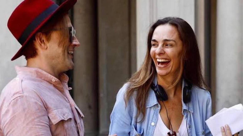 Paulo Gustavo e a diretora e médica Susana Garcia. (imagem: Instagram)