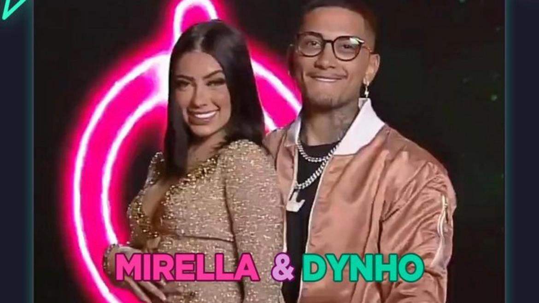 Mc Mirella que esteve em A Fazenda 12, agora está no Power Couple ao lado do marido, Dynho (imagem: Divulgação)