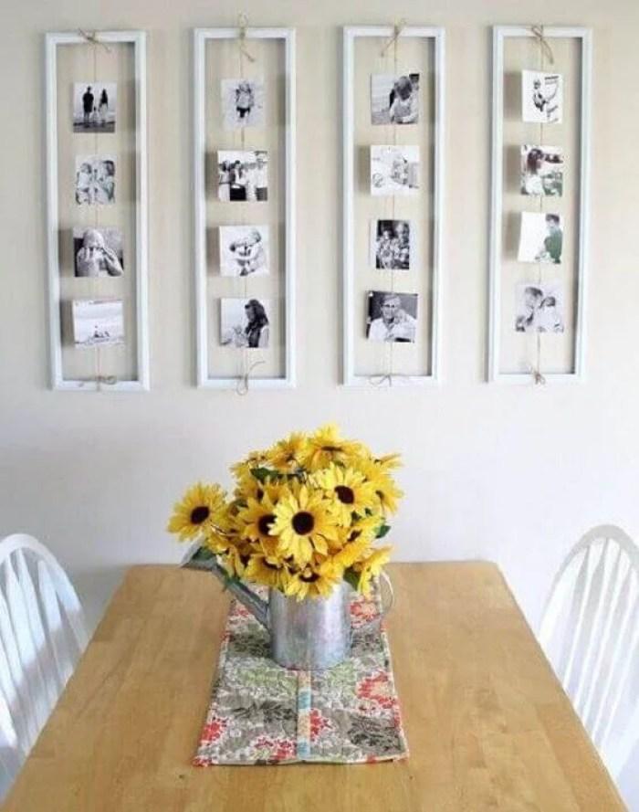 Fotos na cozinha.