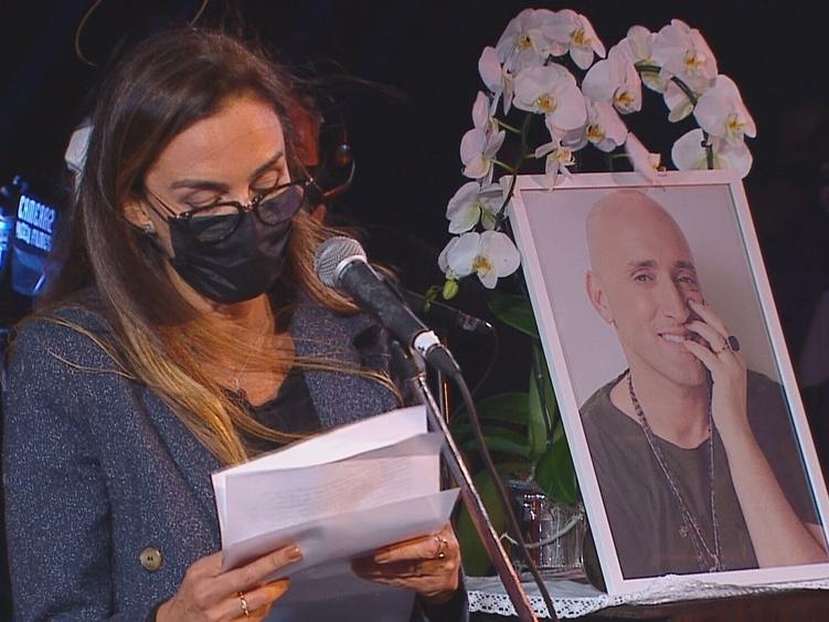 Susana Garcia faz homenagem a Paulo.