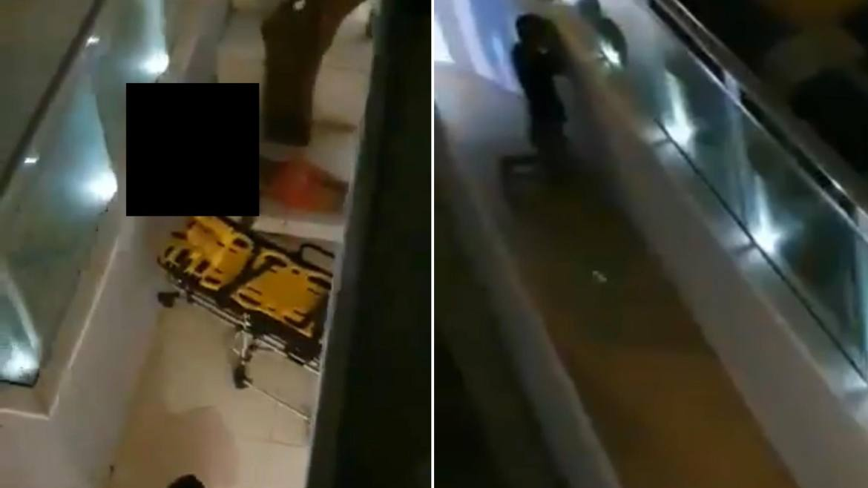 No vídeo do acidente de Mc Kevin é possível ver a movimentação de amigos que rezam e pedem socorro. (montagem: Fashion Bubbles)