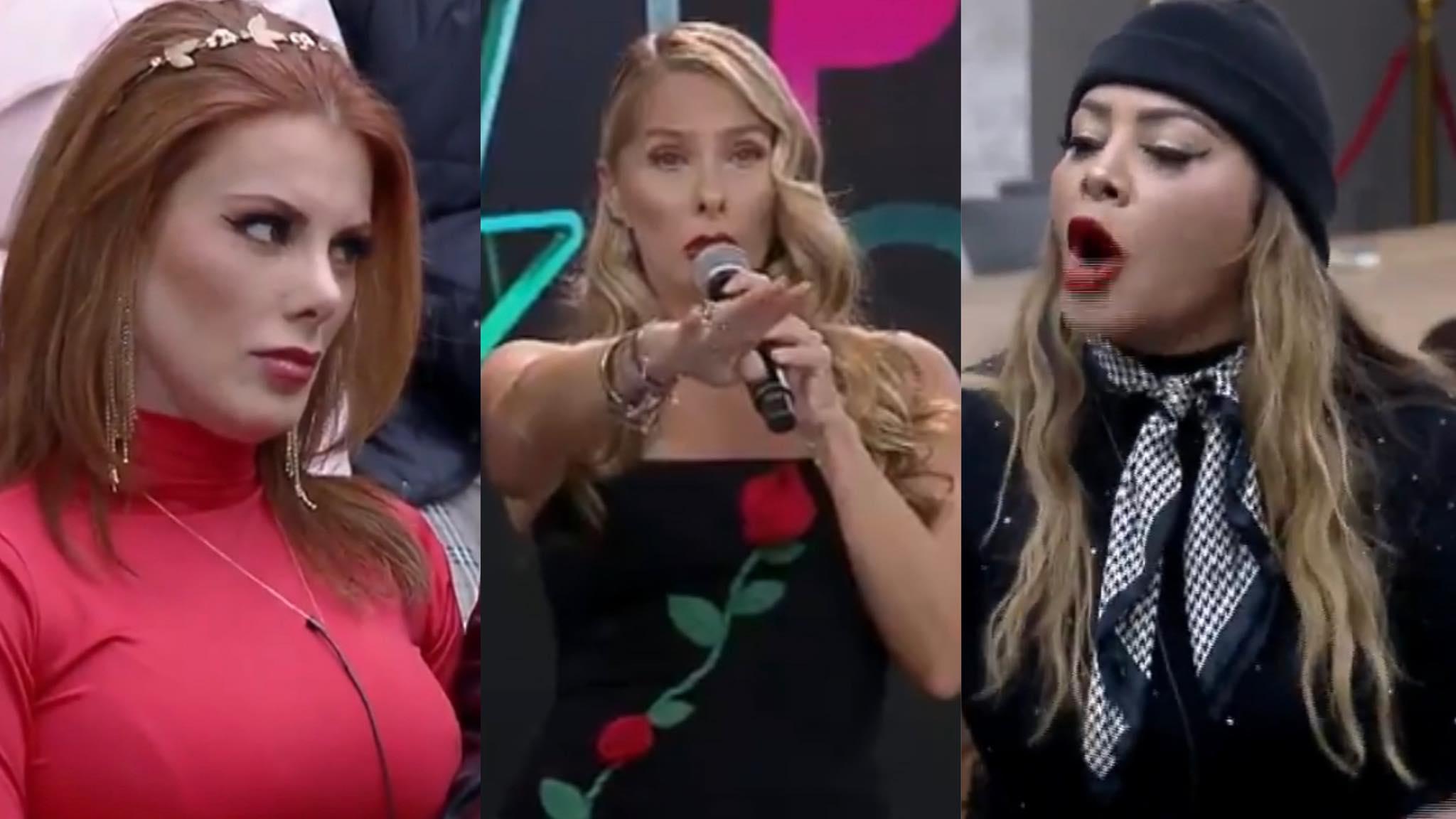 Adriane Galiesteu comentou barraco durante a votação do Power Couple (montagem: Fashion Bubbles)