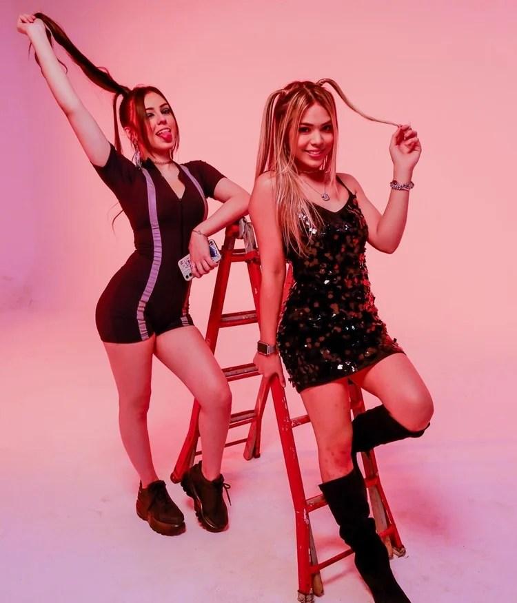 Irmãs Bella Angel e Melody fazem cover da música Girl From Rio, de Anitta.