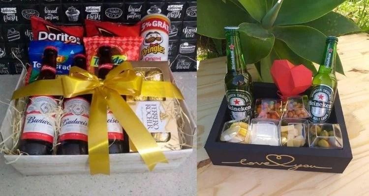 Como montar cesta para o Dia dos Namorados com cerveja?