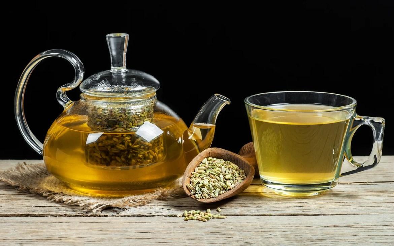 chá de erva-doce