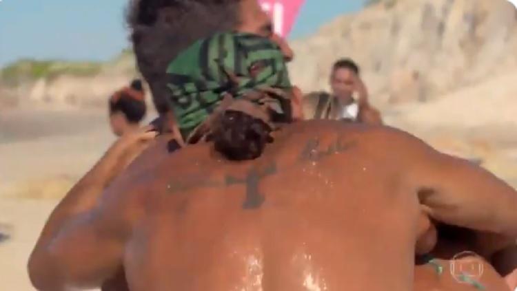 Tribo Calango vence prova da Imunidade