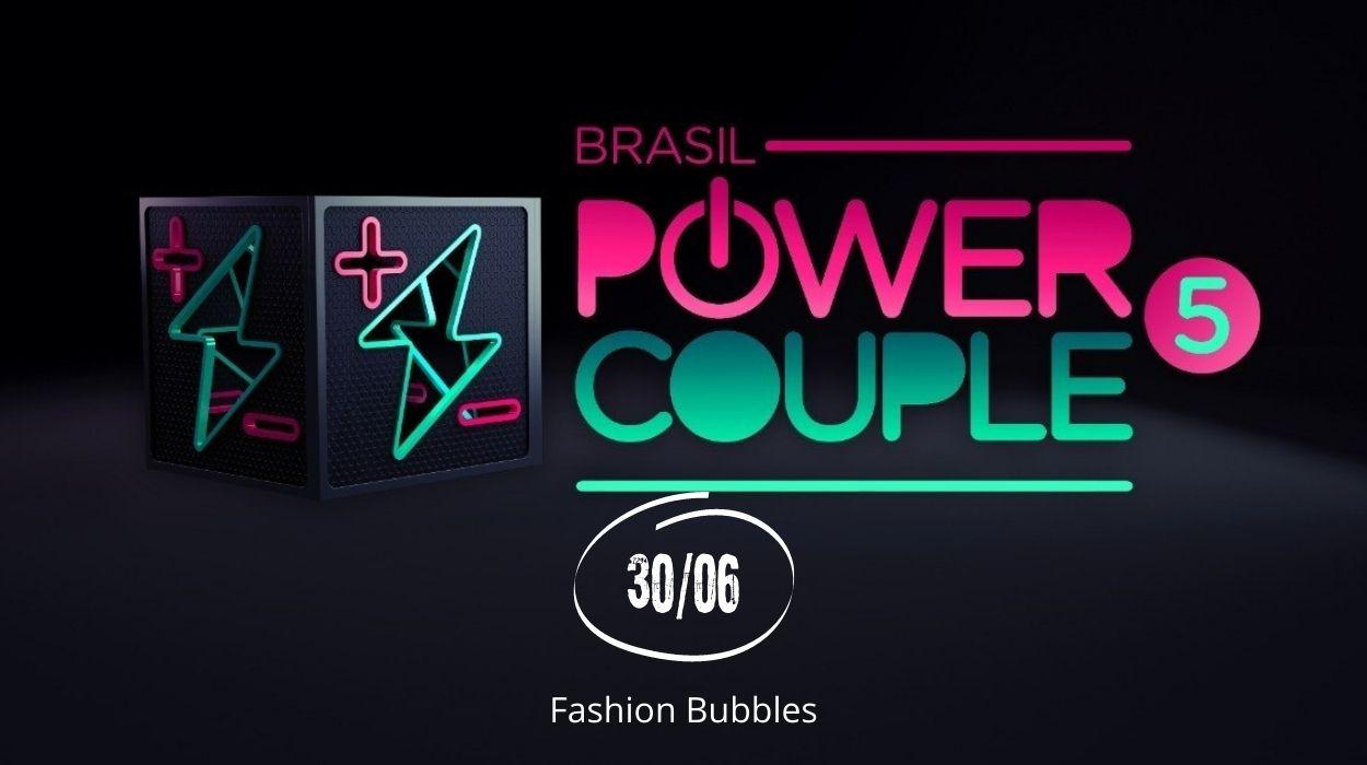 Que horas começa o Power Couple?