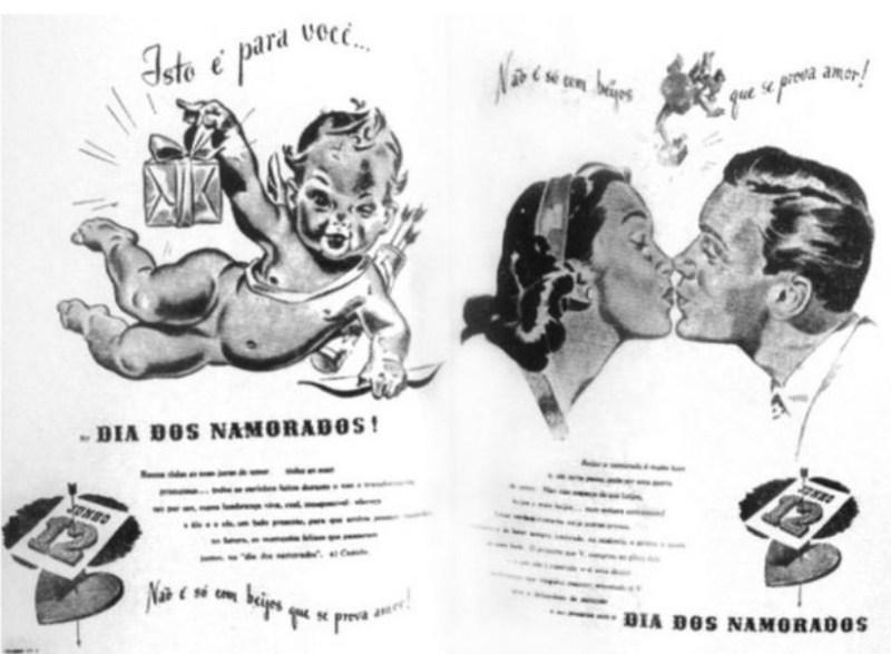 Slogan de propaganda do Dia dos Namorados criada por João Dória.