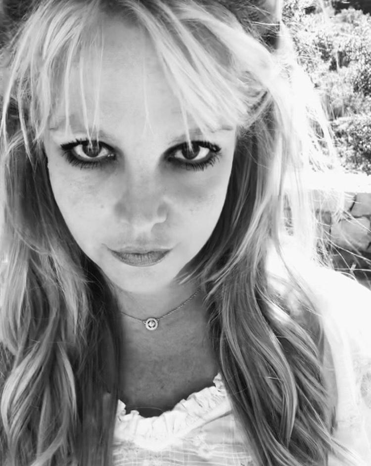 Selfie de Britney Spears.