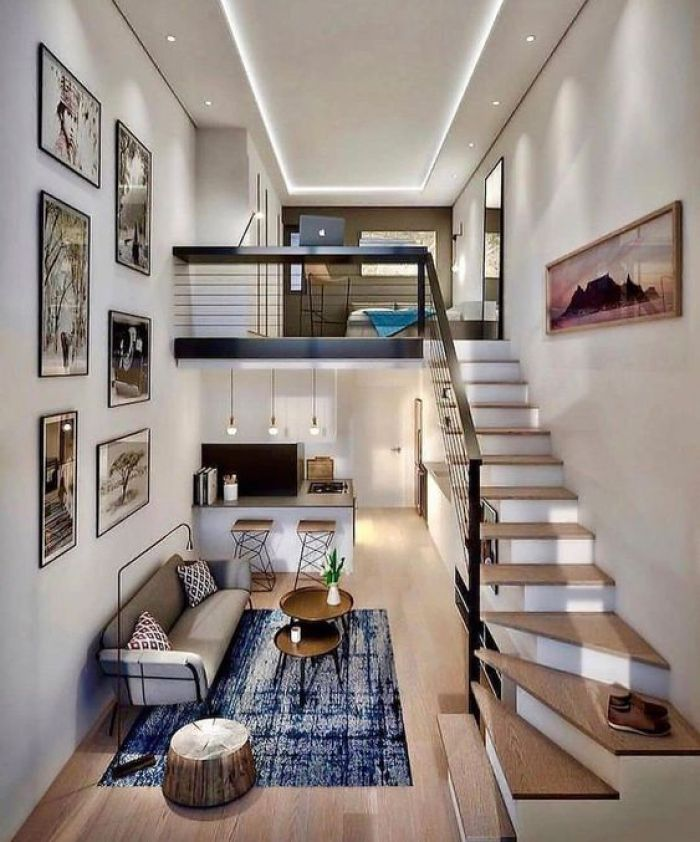 Casa moderna.