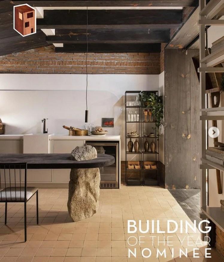 Cozinha em estilo rústico