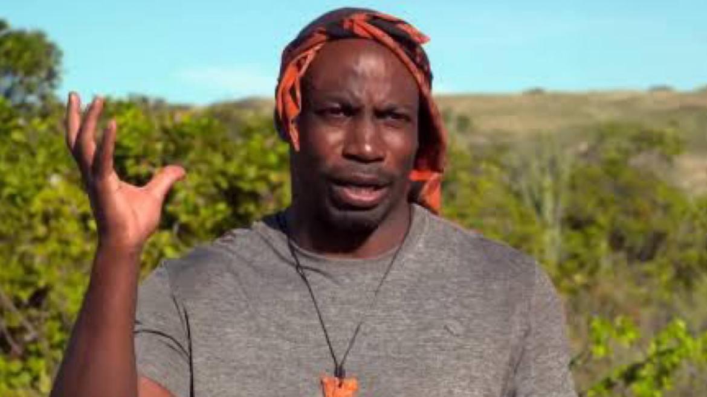 Zulu contou que equipe médica o ajudou. O participante de No Limite sofre com alergia à picadas de insetos (imagem: reprodução)