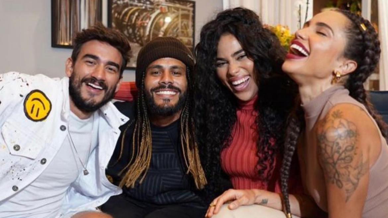 Viegas reencontra Gui, Paula e Elana após No Limite (imagem: Instagram)