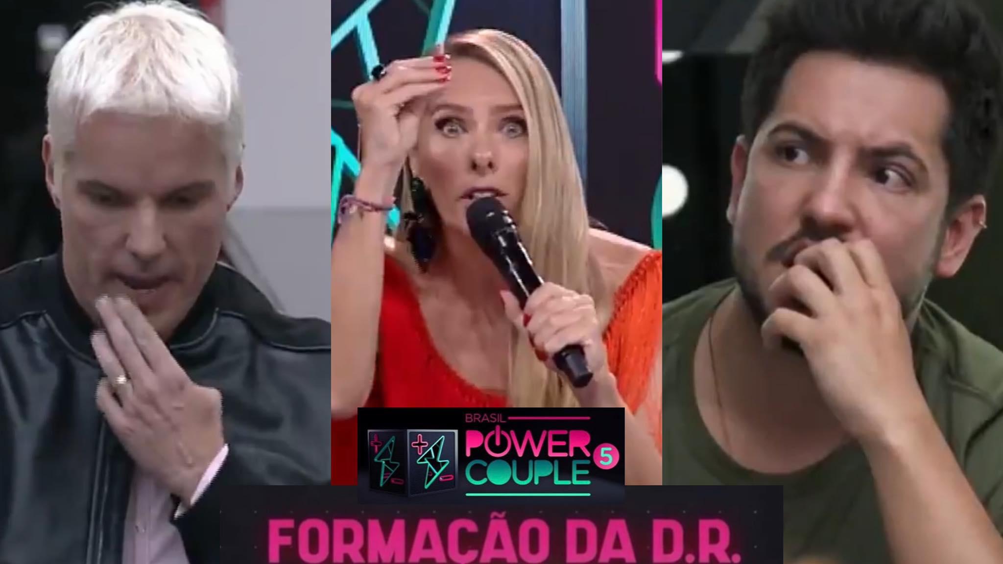 O Power Couple prendeu a atenção do público com a formação da 6ª DR ao vivo (montagem: Fashion Bubbles)