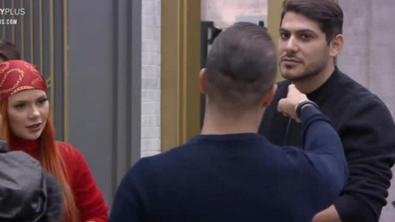 Filipe diz que Yugnir está errado ao incentivar briga no Power Couple (imagem: reprodução: Record TV)