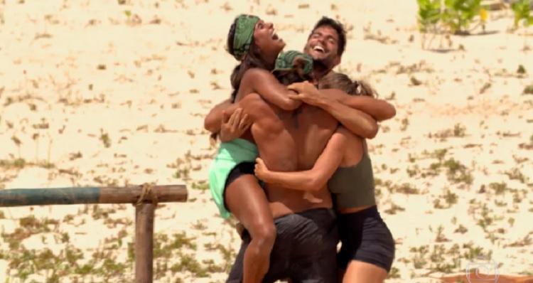 Tribo Calango vence prova do privilégio em No Limite
