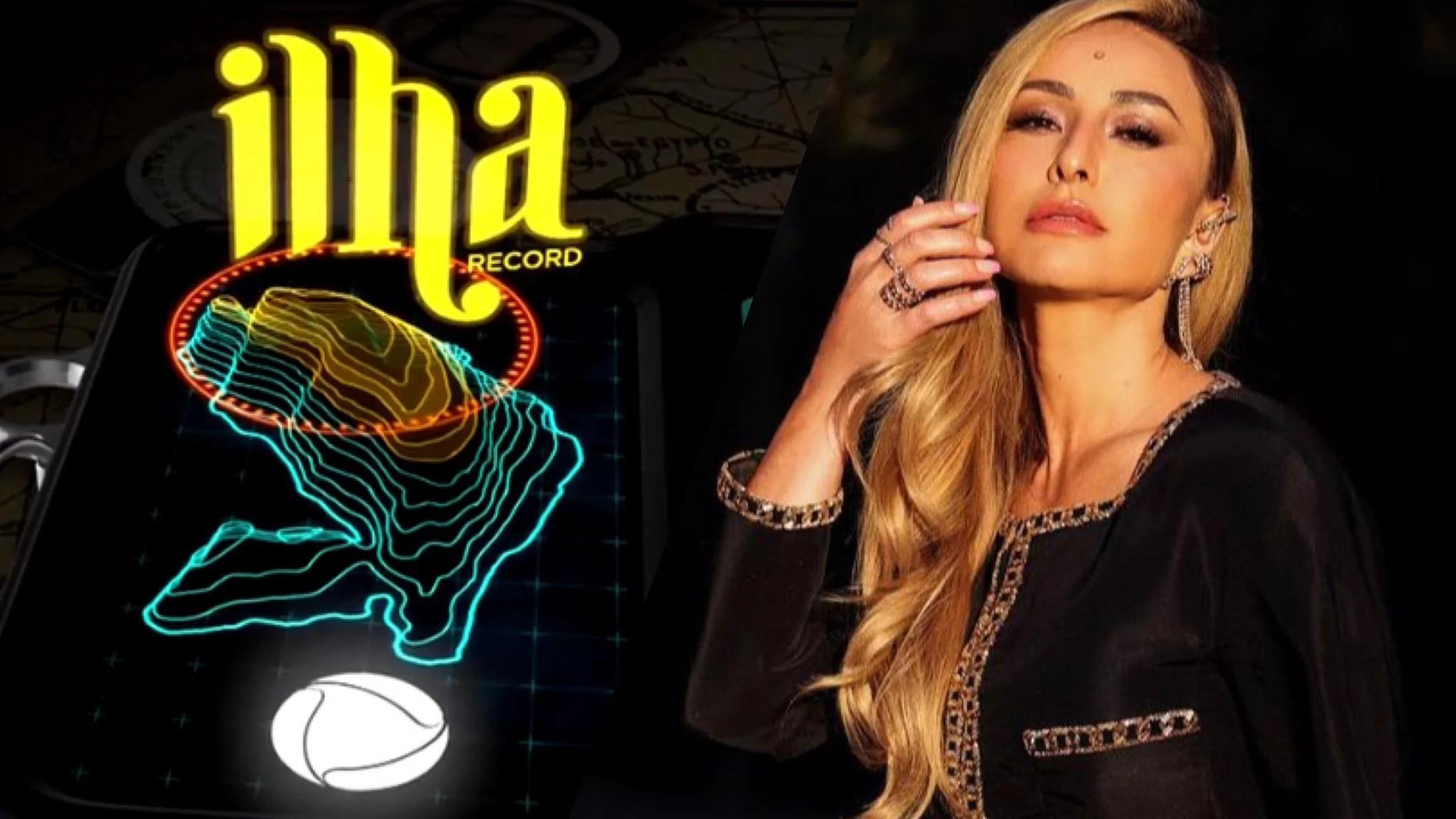 Quando começa o Ilha Record? A partir do dia 25 de julho, Sabrina Sato apresentará o novo reality da Record TV. Fonte: Montagem/ Fashion Bubbles