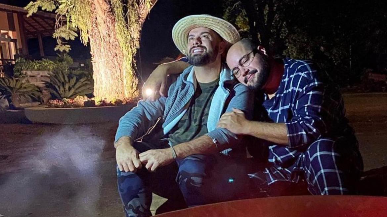 Tiago Abravanel e seu esposo Fernando Poli (imagem: Instagram)