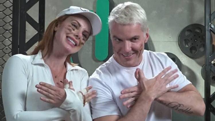 Deborah Albuquerque e Bruno Salomão